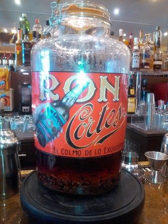 Casa Cortés: Chocolate rum
