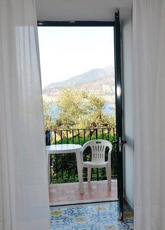 Hotel La Badia : Widok z okna