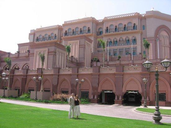 Emirates Palace Hotel: Otel ve biz...
