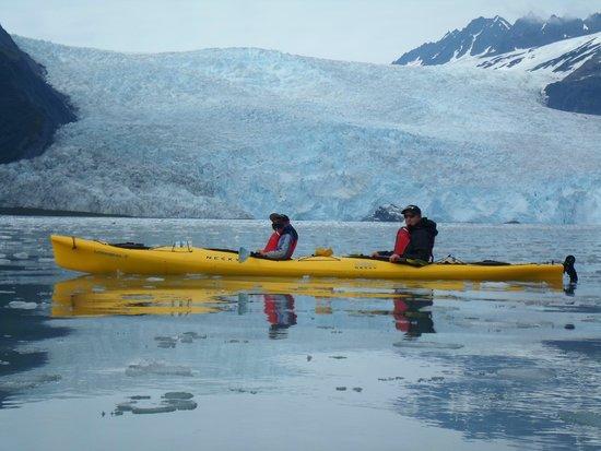 Allens Alaska Adventures: glacier