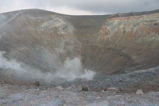 Scalata al Cratere : Cratere di Vulcano