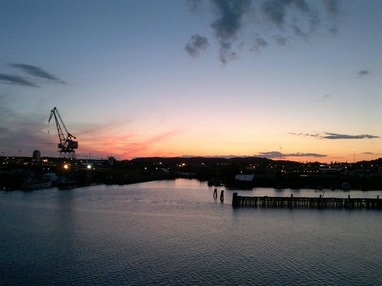 Good Morning+ Goteborg City: tramonto dalla nave
