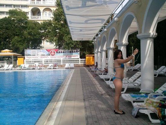 Hotel Marat: Селфи у бассейна