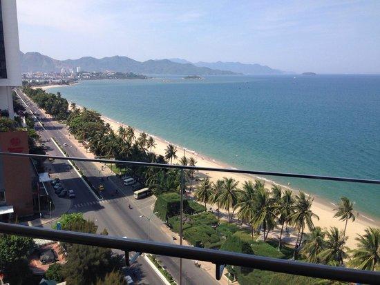 InterContinental Nha Trang : Vista dal 9 piano