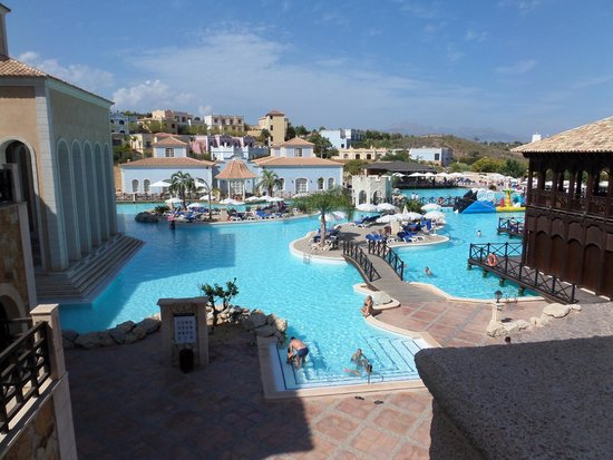 Meliá Villaitana: Vue panoramique piscine