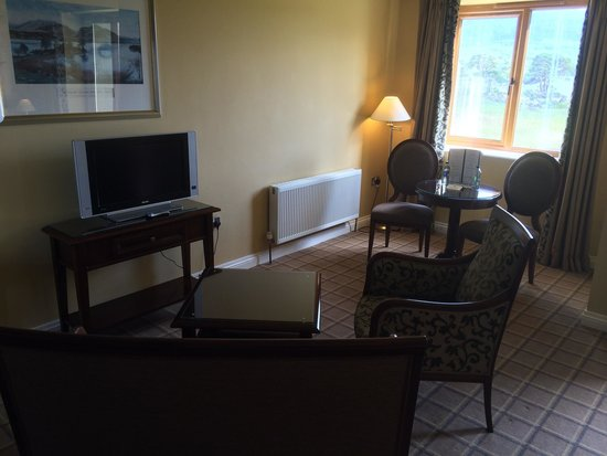 The Lake Hotel: The spacious rooms will not disappoint!