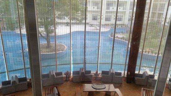 Guobin Hotel Zhangjiajie : на первом этаже чисто, а дальше лучше не ходить