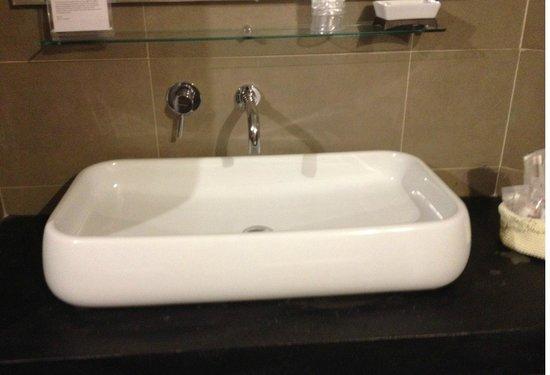 Hotel Restaurant  La Scaletta : Baño