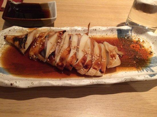 Goto Japanese Restaurant: Squid teriyaki