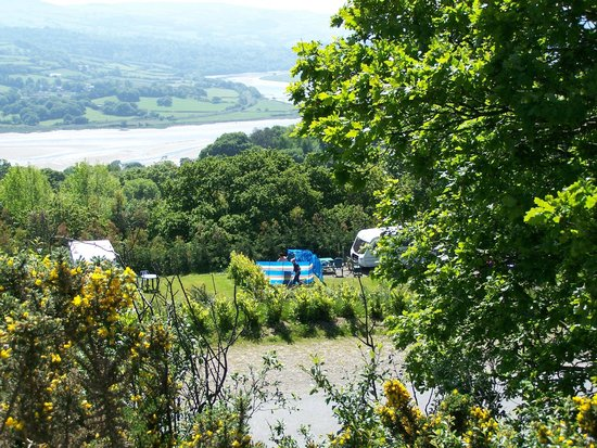 Conwy  Holiday Park: Looking out to the Conwy Estuary