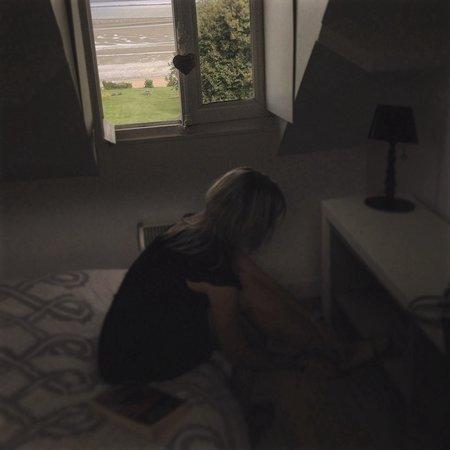 La Cerisaie: Vue sur la mer de la chambre