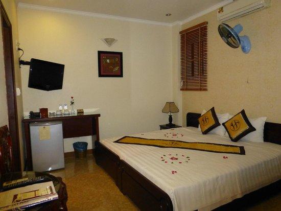 Hanoi Old Centre Hotel : 部屋