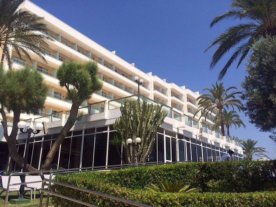 Hotel Torre del Mar: Hotel from the pool area