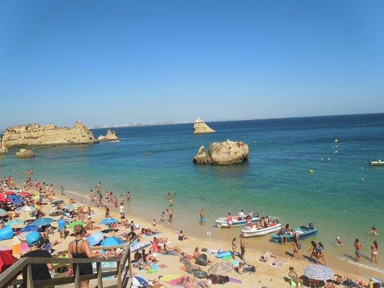 Praia Dona Ana: Пляж Д. Ана