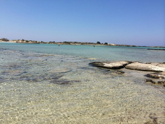Playa de Elafonisi: Acqua cristallina