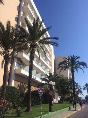 Hotel Torre del Mar: Hotel entrance