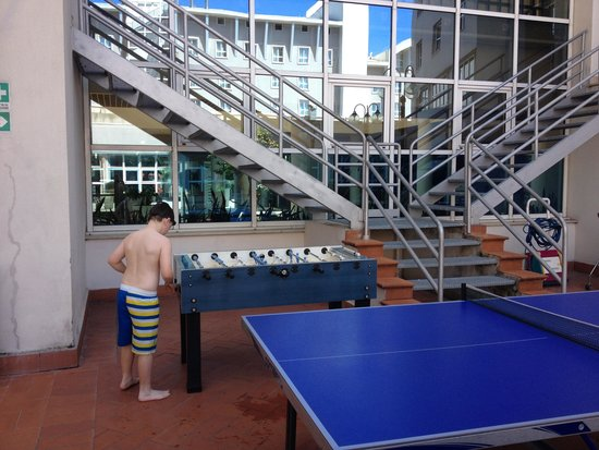 Novotel Firenze Nord Aeroporto: Table Tennis and Football