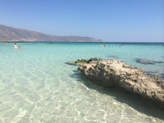 Playa de Elafonisi: Spiaggia mozzafiato
