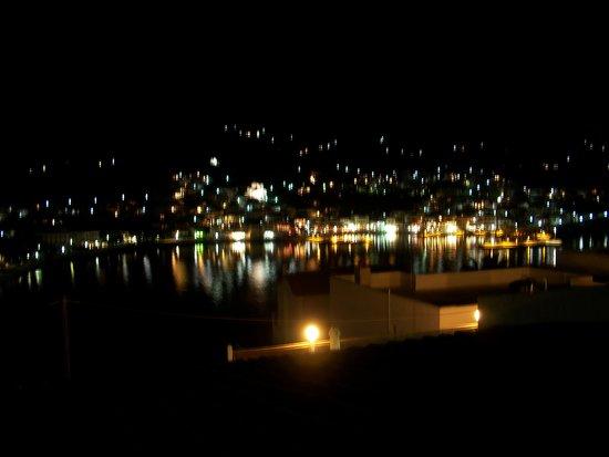 Mare Vista Hotel - Epaminondas : NIGHT SCENE FROM THE BALCONY