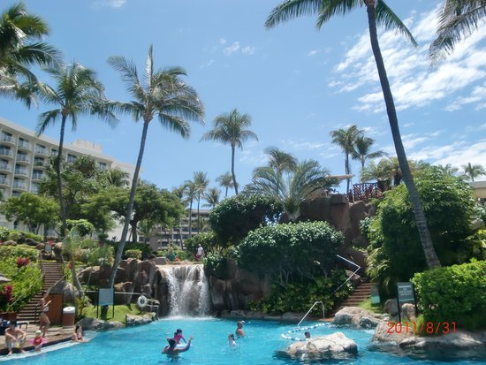 Westin Maui Resort And Spa: スライダーです!