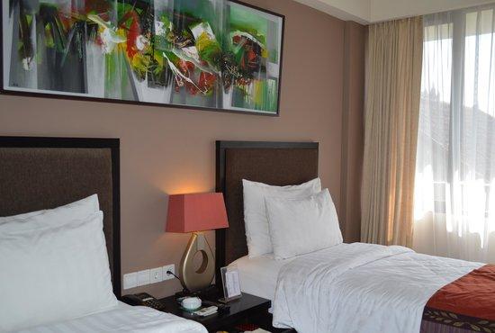 100 Sunset Hotel Managed by Eagle Eyes: バルコニー無しの部屋です。