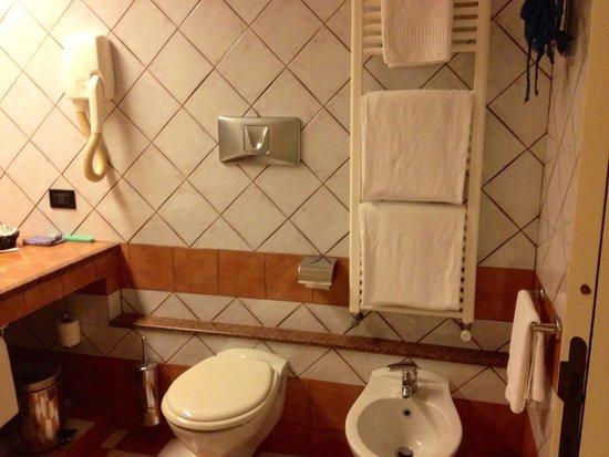 Hotel Grillo : Salle de bain