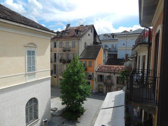 PIemonte da Sciolla : Vista dal balconcino della camera