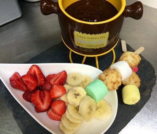 4 Epices: Fondue chocolat