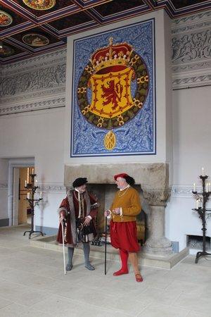 Stirling Castle: Kings room