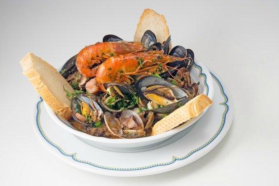 Hotel Derby: Zuppa di pesce dello chef