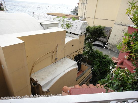 Villa La Tartana: vista da sacada do quarto 24
