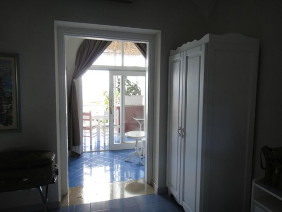 Villa La Tartana: vista interna do quarto