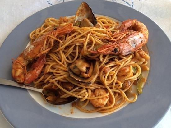 RaMaya: Sea food pasta