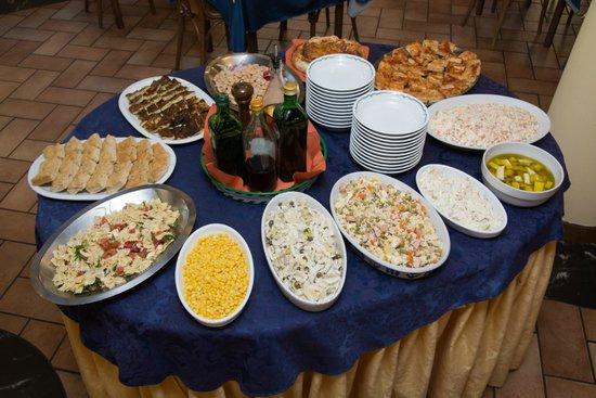 Hotel Derby: Il buffet