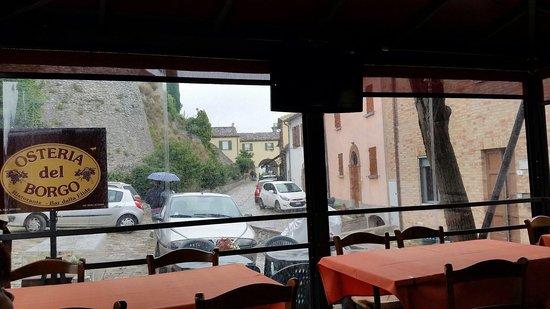 Osteria del Borgo: Interno  dell'osteria