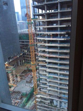 The Ritz-Carlton, Guangzhou: Poor view from Room 2222