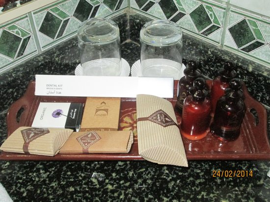 Arabian Courtyard Hotel & Spa : Kit