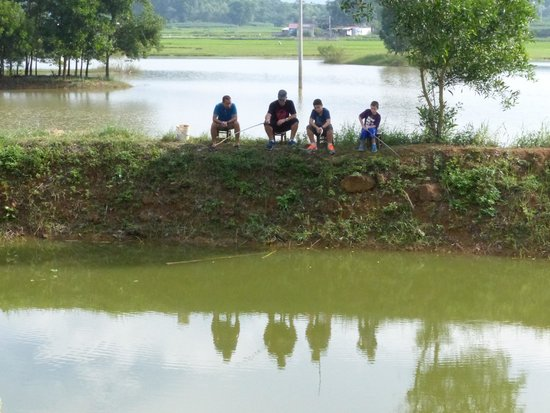 Moon Garden Homestay: fishing