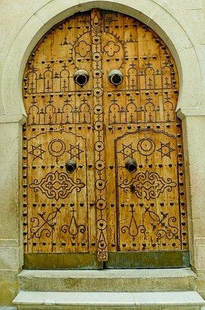 Musée National du Bardo : Museo Bardo: Tunisi: Tunisia: portone esterno museo