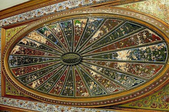Musée National du Bardo : Museo Bardo: Tunisi: Tunisia: un soffitto