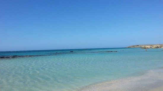 Plage d'Elafonissi : Spiaggia di Elafonissi