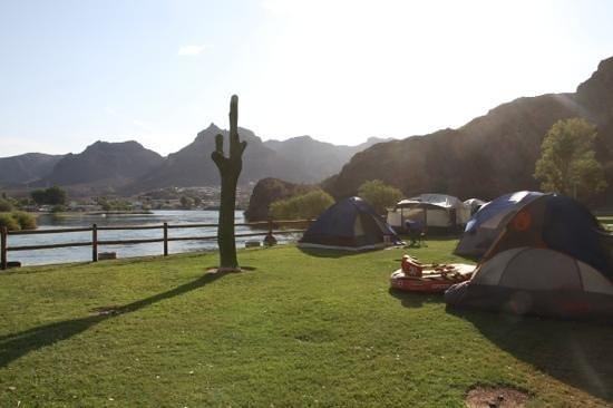 Lake Havasu: de kampeerplaats