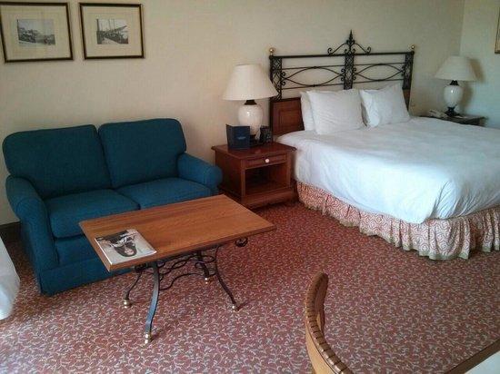 Hilton Malta: Deluxe room