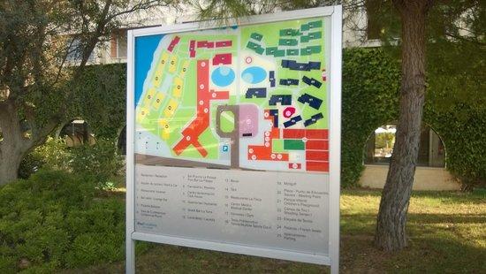Blau Punta Reina Resort: Punta Reina resort plan