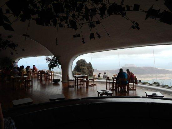 Mirador del Rio : Inside