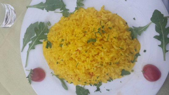 Il Giardino: Not the best risotto