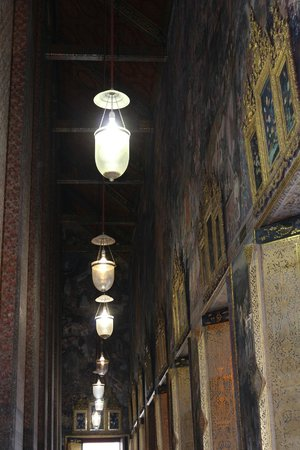 Temple du Bouddha Couché (Wat Pho) : The Long Corridor