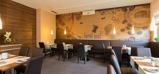 Hotel Sud: Frühstücksraum