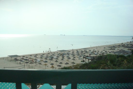Marhaba Beach Hotel: View from our balcony