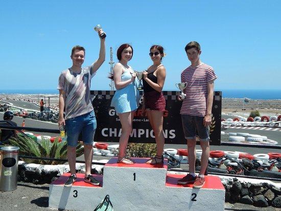 Go Karting San Bartolome : Winners